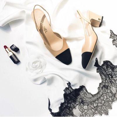 7 Beautiful Gray Donna Karan High Heels ...