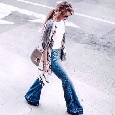 How to Rock Flared Jeans This Season ...