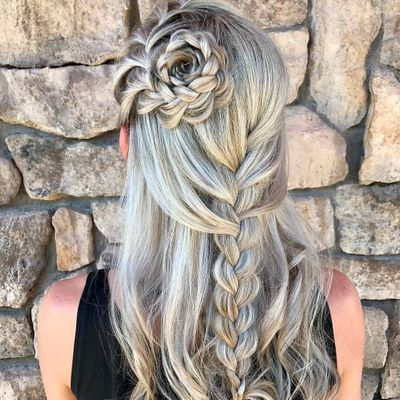 Ethereal 💫 Flower 🌸 Braids to Rock ✌🏼 This Summer☀️ ...