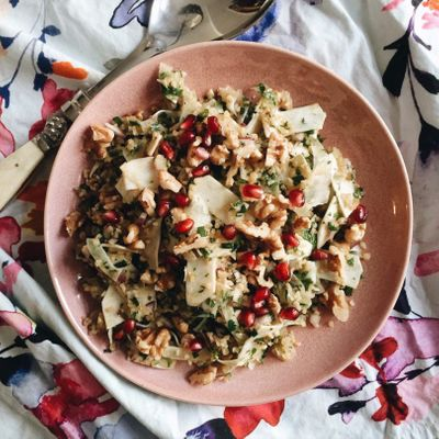 Recipe  for Tabbouleh with Fennel  ...