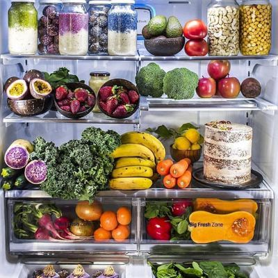 10 Simple 👌 Ways to Makeover 🔄 Your Fridge 🍴 to Lose Weight ⚖️ ...