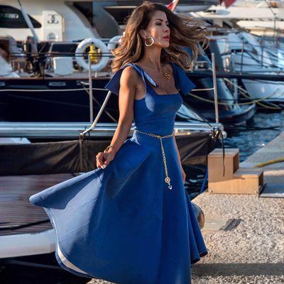 8 Peacock Blue Fashions ...