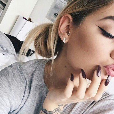 15 Unique 🙃 Multiple Ear 👂🏼 Piercing 💎 Looks You'll Love 💗 ...
