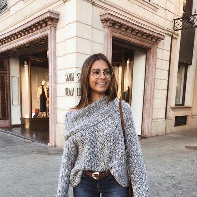 Dear Fashion Kitty, Cashmere Mafia Black Sweater Fur Sleeves ...
