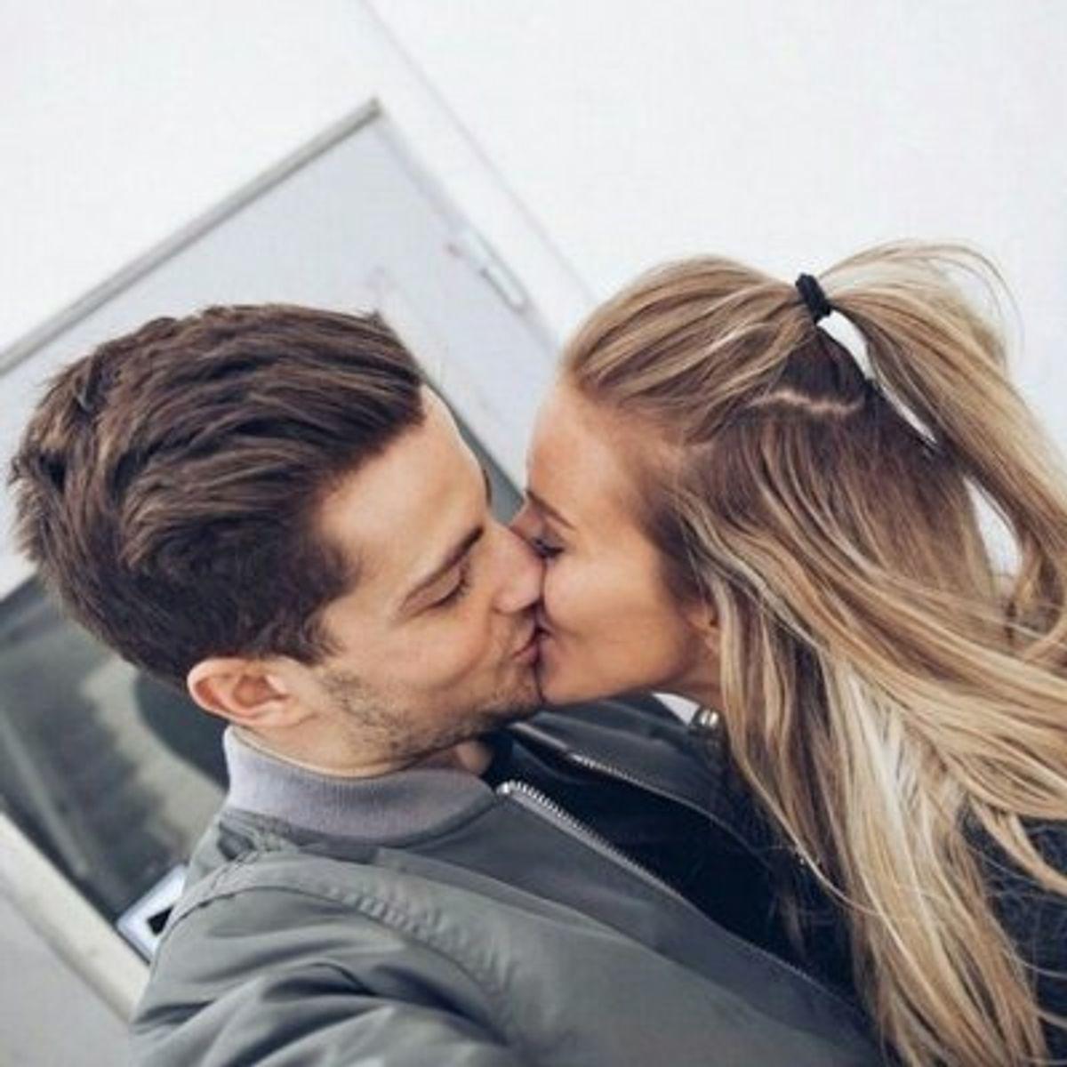 Küsse gute Richtig küssen