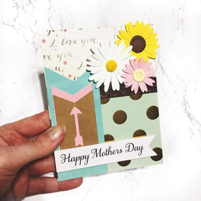 Tutorials for Homemade Cards for Mother's Day ...