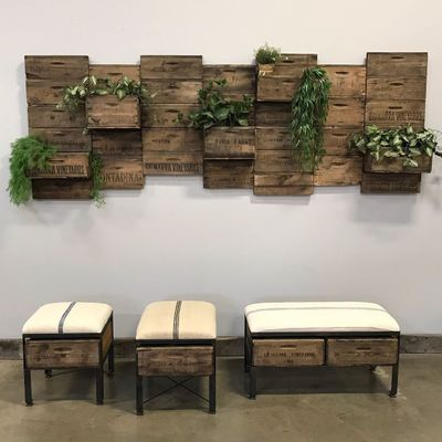 DIY Furniture: Making a Crate Bench on a Budget ...