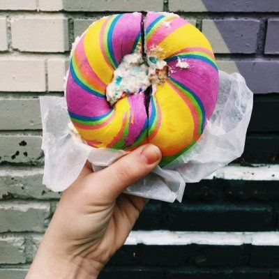 How to Make the Rainbow Bagels You've Seen on Instagram ...