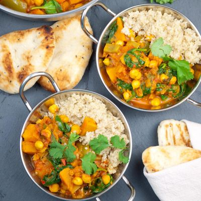 Recipe 😋 for Squash and Chickpea Curry ...