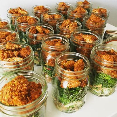 Healthy 💪 Mason Jar Meals 🥄 for Girls 👩 on the Go 🚗 ...