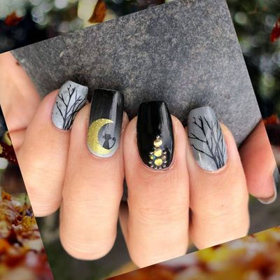 Halloween ☠️ Nail Art 💅🏼 to Add ✅ to Your Costume ...