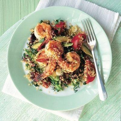 Yummy 🤤 Recipe for Prawn 🍤 and Avocado 🥑 Quinoa Salad 🥗 ...