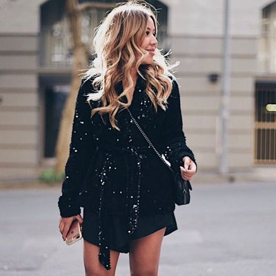 17 Streetstyle  Ways to Wear All Black  and Look  Fierce  ...
