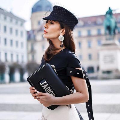 Prada Saffiano Lux Clutch Vs Tessuto Fiocco Bow Bag