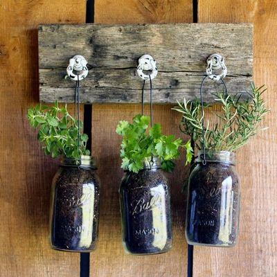 DIY Mason Jar Herb Gardening ...