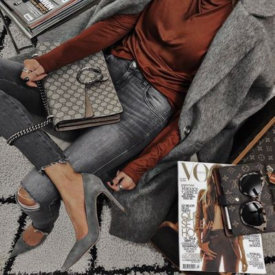 Other Designers Anya Hindmarch Neeson Handbag | Jessica Alba