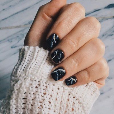 How to Create a Stella McCartney Inspired Marble Manicure ...