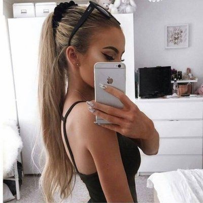 The Very 💯 Best Tips 👏🏼 for Girls Who Want 🙏🏼 Ponytails 👱🏿♀️👱🏼♀️ with Oomph ...