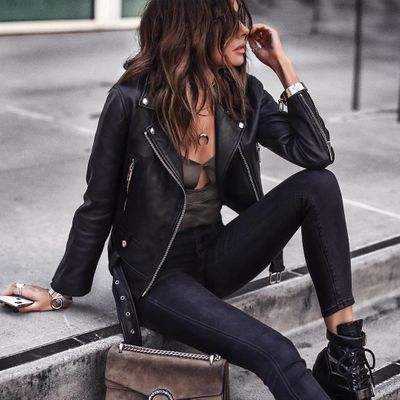 8 Chic Leather Look Shorts ...