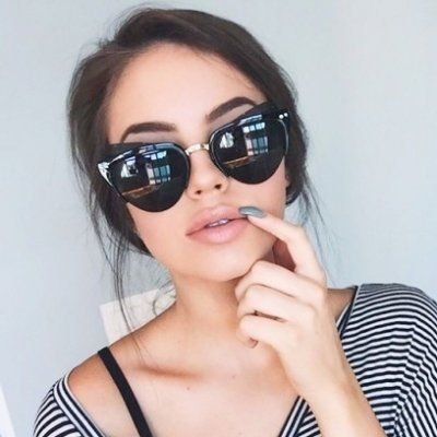 Types of Sunglasses Suited for Every Girls' Face Shape 😎 ...
