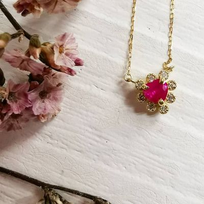 5 Ways to Rock a Ruby Pendant after Valentine's ...