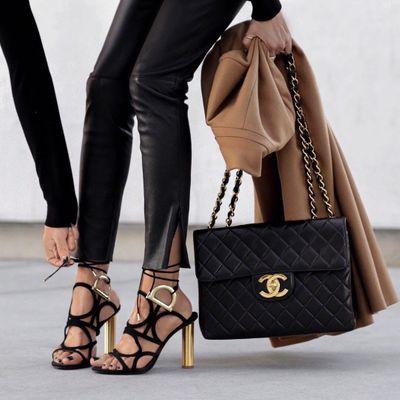 7 Glamorous Metallic Prada High Heels ...