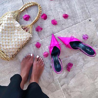 6 Beautiful Purple Givenchy High Heels ...