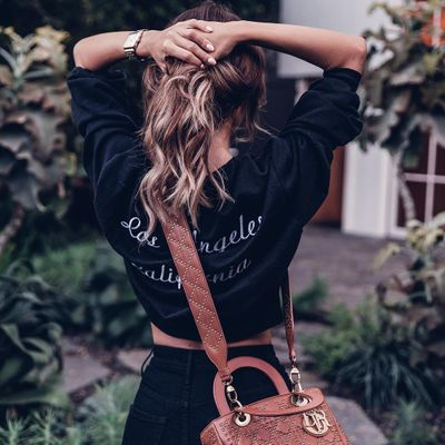 Chanel Metallic Python Bag