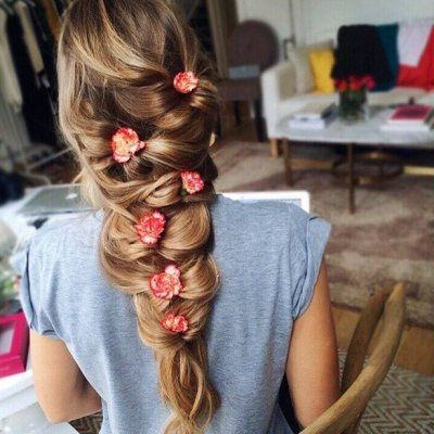 17 Quick and Cute Hairstyles for Girls with Thick Hair 💇 ...