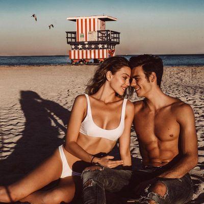 Caroline D'Amore Loves Her Boosi Cola Beach Bag