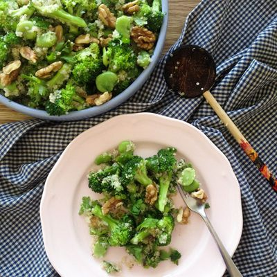 Recipe 😋 for Broccoli 🥦 with Walnuts 🥜 ...