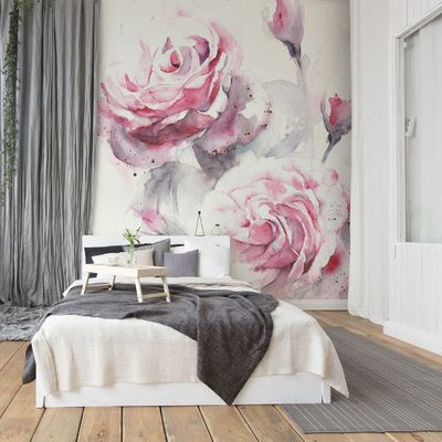 Personalize 👌 Your Space with a Floral 🌸 Wall Mural ...