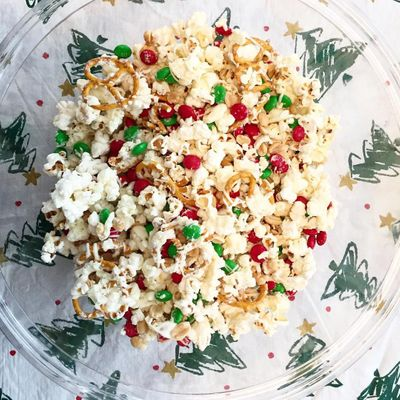 Easy 👌 No-bake Holiday 🎄 Popcorn 🍿 ...