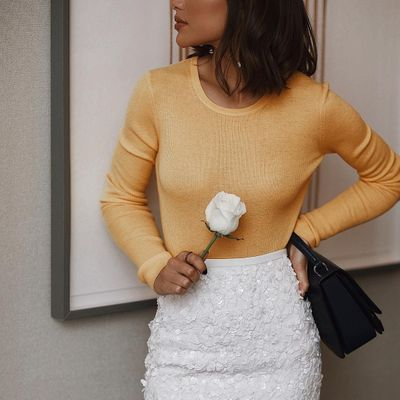 Dress of the Day: Golden Lace Qi Pao