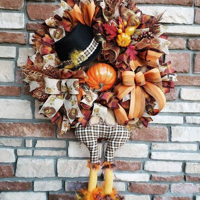 Challenge Yourself to Create 🛠 These 7 Thanksgiving Themed Wreaths 🍂🍁 ...