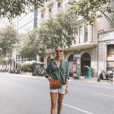 9 Awesome Street Style Ways to Wear Denim Shorts ...