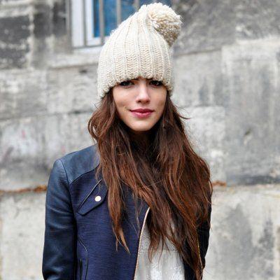 7 Streetstyle Ways to Wear a Winter Hat ...