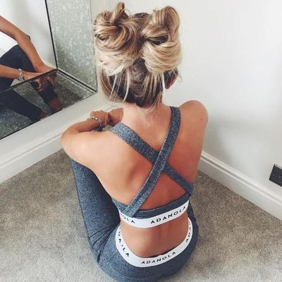 Perfect 👌🏼 Hairstyles 💆🏻💆🏼💆🏽💆🏿 to Keep You Sexy 😘 during Your Workout 💪🏼 ...