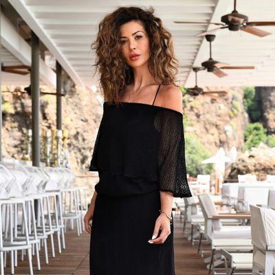 4 Beautiful Black Oscar De La Renta Sandals ...
