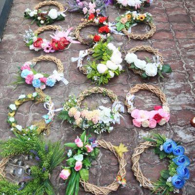 Unbelievably Gorgeous DIY Flower Wreath ...