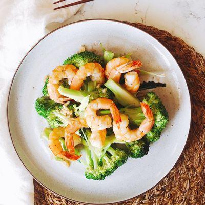 Tasty 😋 Recipe for Stir-Fried Prawns 🍤 with Broccoli 🥦 ...