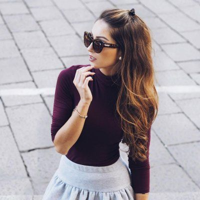 17 Super Cute Hairstyles for Girls Who Are Growing out Their Bangs ...
