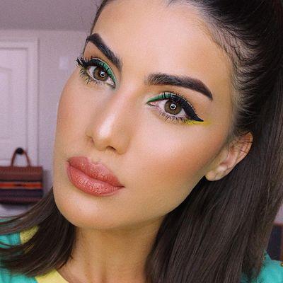 Fall 2008 Beauty Trend Glitter Eye ...