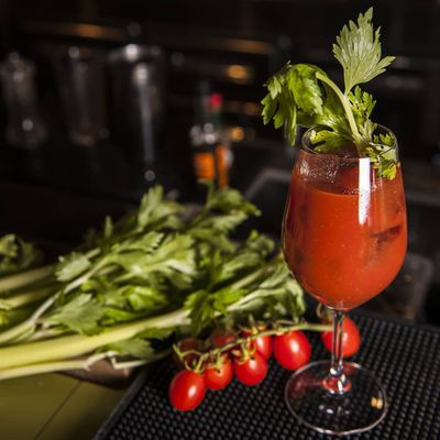 As Good as a Bloody Mary without the Alcohol- Spicy Virgin Mary Mocktail ...