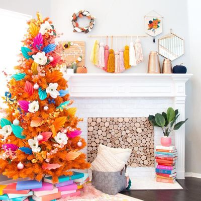 How to do a Fall Tree 🍁 DIY 🎨 Decor in Your Home 🏡 ...