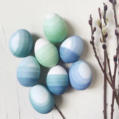 How to Dye Easter Eggs with Shaving Cream ...