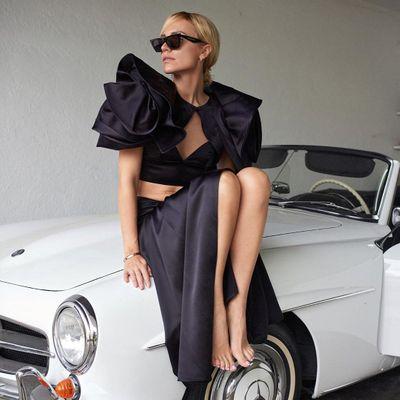 7 Beautiful and Wonderful Black and White Dresses ...