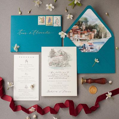 7 Trendiest  Wedding Card Ideas  for Girls Ready to Tie the Knot  ...