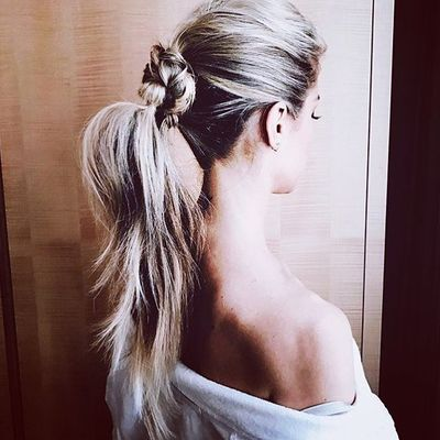 11 Knotted  Ponytails to Be Stylish  and Cool  All Summer Long  ...
