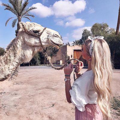 4 Gorgeous Camel Michael Kors Flats ...